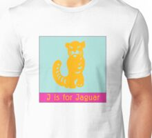 Jaguar Animal Alphabet Unisex T-Shirt