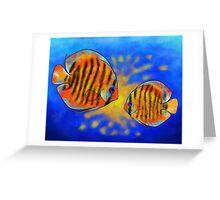Discussios V1 - amazing discus Greeting Card