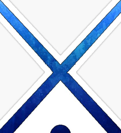 Field Hockey Dark Blue Sticker