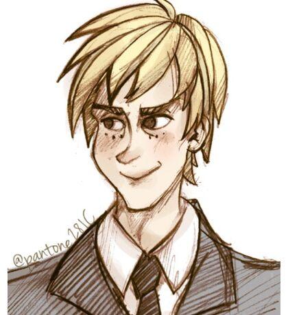 Blond Man Sticker