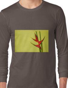 Amazing Helikonia Flower (Plant) - Object Photography Long Sleeve T-Shirt