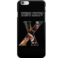 WHO'S NEXT iPhone Case/Skin