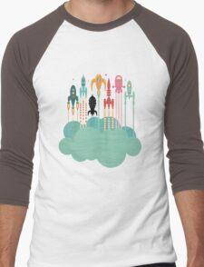 Grand départ (graphic version) Men's Baseball ¾ T-Shirt