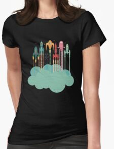 Grand départ (graphic version) Womens Fitted T-Shirt