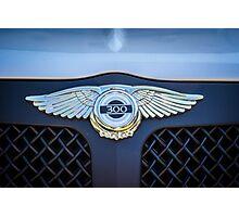 Chrysler 300 emblem  Photographic Print