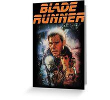 Blade Runner Shirt! Greeting Card