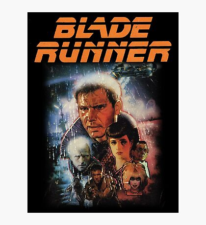 Blade Runner Shirt! Photographic Print