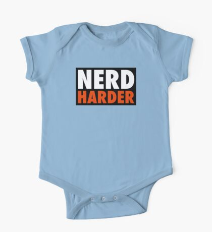 Nerd Harder One Piece - Short Sleeve