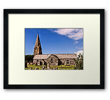 Cubert Church  Framed Print