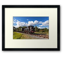Steam Locomotive Ajax Framed Print