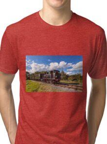 Steam Locomotive Ajax Tri-blend T-Shirt