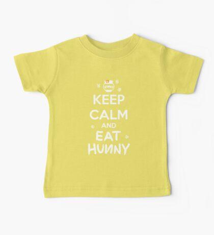 KEEP CALM - Keep Calm and Eat Hunny Baby Tee