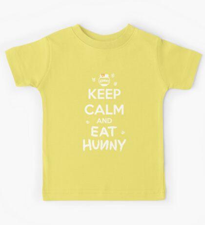 KEEP CALM - Keep Calm and Eat Hunny Kids Tee