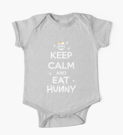 KEEP CALM - Keep Calm and Eat Hunny One Piece - Short Sleeve