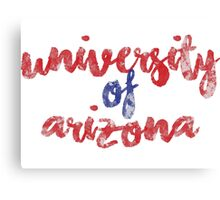 University of Arizona 2 Canvas Print