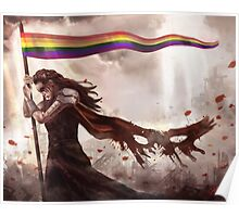 Commander of the Rainbow Poster