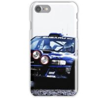 Subaru Rally Car iPhone Case/Skin