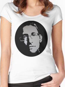 Edward SNOWDEN - voice QUOTE Women's Fitted Scoop T-Shirt