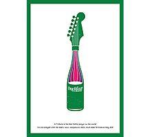 Guitar Art - Bottle Guitar Photographic Print