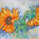 THE HEART OF THE SUNFLOWERS 3 by Gea Austen