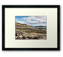 Back Beach 2 - Lyme Regis Framed Print