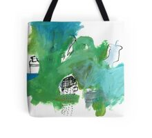 green with collection Tote Bag
