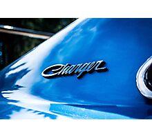 Dodge Charger emblem  Photographic Print
