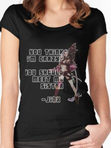 League of Legends - Jinx Women's Fitted Scoop T-Shirt