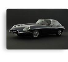 Jaguar XK-E Canvas Print