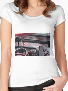 Custom Dodge Challenger R/T 100 year anniversary Women's Fitted Scoop T-Shirt