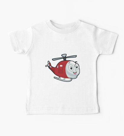 Baby Helicopter Baby Tee