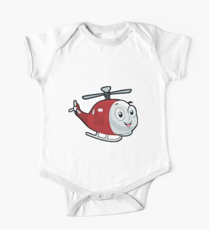 Baby Helicopter One Piece - Short Sleeve