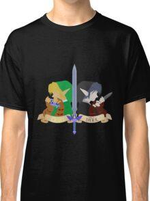 Light and Dark - Legend of Zelda - Link Classic T-Shirt