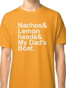 Boats 'N Hoes - A Lyrical Journey Classic T-Shirt