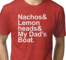 Boats 'N Hoes - A Lyrical Journey Tri-blend T-Shirt