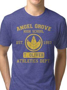 Angel Grove H.S. (Green Ranger Edition) Tri-blend T-Shirt