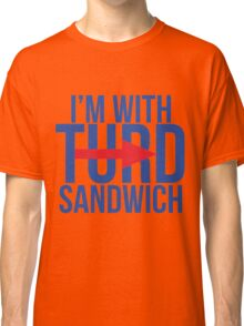 I'm With Turd Sandwich - South Park Classic T-Shirt