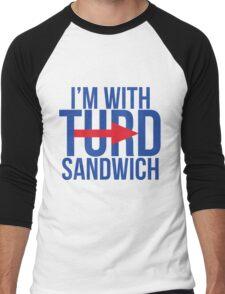 I'm With Turd Sandwich - South Park Men's Baseball ¾ T-Shirt