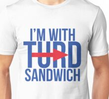 I'm With Turd Sandwich - South Park Unisex T-Shirt