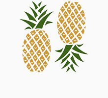 Pineapples (two) Womens Fitted T-Shirt