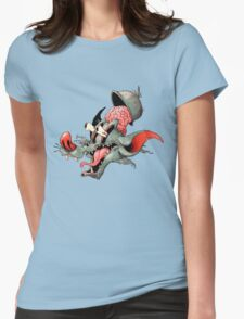 Eek! Womens Fitted T-Shirt
