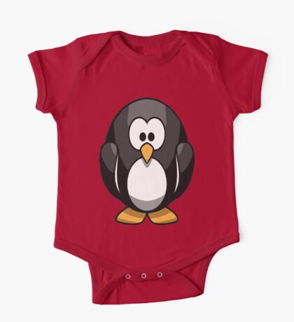 Baby Penguin One Piece - Short Sleeve