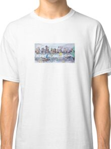 The last supper, with bikers Classic T-Shirt