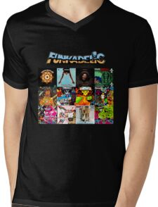Funkadelic 12 Mens V-Neck T-Shirt