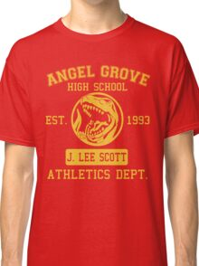 Angel Grove H.S. (Red Ranger Edition) Classic T-Shirt