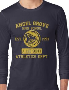 Angel Grove H.S. (Red Ranger Edition) Long Sleeve T-Shirt
