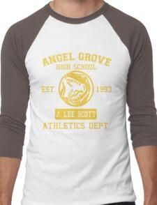 Angel Grove H.S. (Red Ranger Edition) Men's Baseball ¾ T-Shirt