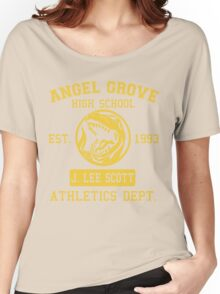 Angel Grove H.S. (Red Ranger Edition) Women's Relaxed Fit T-Shirt