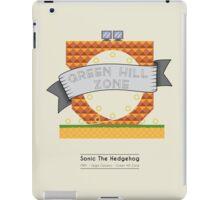 Sonic The Hedgehog - Green Hill Zone iPad Case/Skin