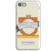 Sonic The Hedgehog - Green Hill Zone iPhone Case/Skin